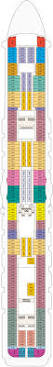 Star Princess Aloha Deck Plan by Princess Cruises Majestic Princess Jetline Cruise