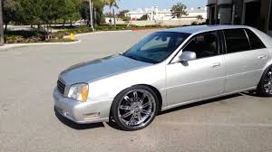 2001 Cadillac DeVille Dts on 22 inch velocity wheels