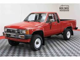 1986 Toyota Pickup For Sale | ClassicCars.com | CC-1010745 Toyota Truck Parts Accsories At Stylintruckscom Toyota Pickup Catalogue Pickup Interior Restoration Breaking A Rusty Frame With Hammer Youtube Curbside Classic 1986 Turbo Get Tough Factory Trd Turbo Sr5 Pickup 22rte 22r 4runner Review Rnr Automotive Blog Turbocharged 4x4 Glen Shelly Auto Brokers 1990 Toyota Cammed 22re 88 50 V8 Mustang Engine Hard Accelerations And Beds Tailgates Used Takeoff Sacramento 22r 5 Speed 4wd 2600 Feeler Yotatech Forums