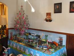 Menards Christmas Trees Recalled by 1960s Themed Lionel Easter Door Layout Classic Toy Trains Magazine