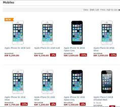 It Just Gets Crazier Lazada Malaysia Prices iPhone 5s From RM3200