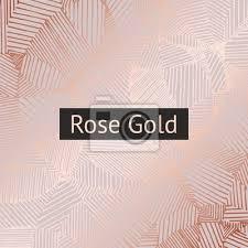 fototapete roségold vector dekoratives muster für design und dekoration