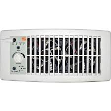 Home Depot Floor Fans by Suncourt Flush Fit Register Booster Fan In White Hc500 W The