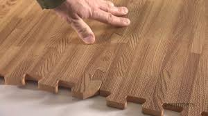 Foam Tiles Wood Grain Reversible