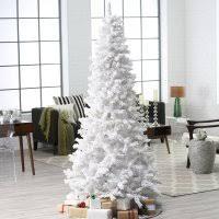 Pre Lit Slim Christmas Tree Asda by Cheap Pre Lit White Christmas Tree U2013 Merry Christmas And Happy New
