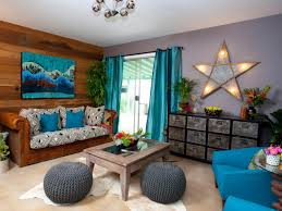 Teal Living Room Walls by Property Brothers Hgtv