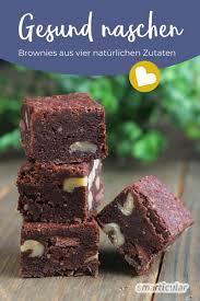 gesund naschen brownies aus vier natürlichen zutaten