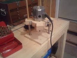 home made plunge router woodworking talk woodworkers forum