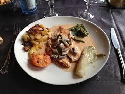 cuisine escalope de dinde escalope de dinde photo de restaurant olivier metz metz