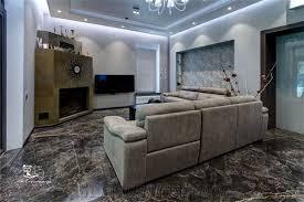 Golden Black Marble Floor Tiles Granite For Covering Iran