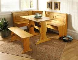 Image Of Nice Corner Booth Kitchen Table