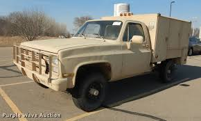 100 1986 Chevy Trucks For Sale Chevrolet D30 Utility Bed Pickup Truck Item DC0314