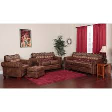 Outdoor Leisure Products Sierra Lodge 4 Piece Sofa Set