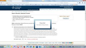 Creating A Cengage Learning Instructor Account