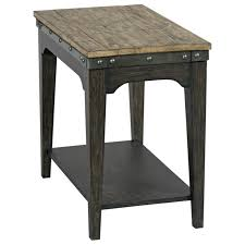 Plank Road Artisans Solid Wood Chairside Table By Kincaid Furniture At  Darvin Furniture Lane 7332 Contemporary Chairside Table With Metal Base Fniture Nickel C Shape Findley End By At Morris Home 732641 732741 7588 Transitional Shelf Runes Hammered Copper In Warm Coffee Bean Nebraska 758141