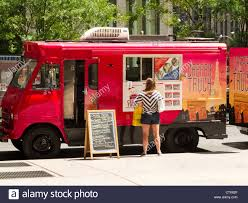 Gourmet Food Truck, NYC Stock Photo: 49749575 - Alamy