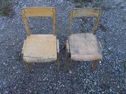 2 x kinder stuhl holzstuhl küchenstuhl stuhl antik bauer alt