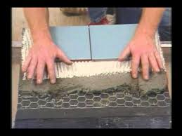 how to prepare subfloor for ceramic or porcelain tile installation
