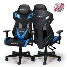 AutoFull Gaming Chair - Video Game Chairs Mesh Ergonomic High Back Racing  Style Computer Chair For Adults With Lumbar Support ( 1 Pack)