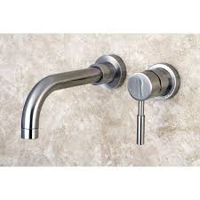 Bathroom Sink Faucets Walmart by Kingston Brass Ks8115dl Concord Wall Mount Single Lever Handle