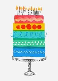 Margaret Berg Art Layer Cake Birthday partirvideos happybirthday