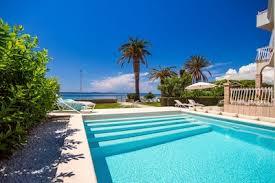 neu strandvilla in der nähe split privater pool 7 schlafzimmer podstrana