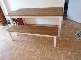 esstisch mit sitzbank und 3 stühlen dänisches bettenlager