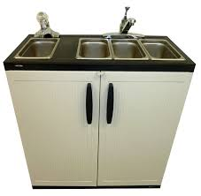 portable sink depot propane gas 4 compartment sink