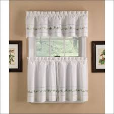 Walmart Kitchen Cafe Curtains by Modern Kitchen Valance Curtains Interior Design