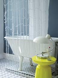 dusch vorhang schön dekorieren originelle ideen zum