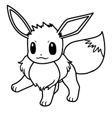 Eevee Coloring Sheets Pages Cute Cool Drawings Crafts Library Printable