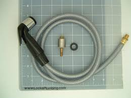 Mop Sink Faucet Backflow Preventer by American Kitchen Spray Hose Spray Head And Diverter Locke Plumbing