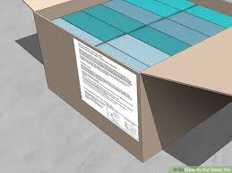 Score And Snap Glass Tile Cutter by How To Cut Glass Tile 13 Steps With Pictures Wikihow