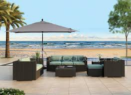 9 Ft Patio Umbrella Frame by 8 U0027 X 10 U0027 Rectangular Auto Tilt Umbrella Um8810rt Swv Patio