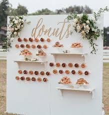 A Hole Lotta Love Wedding Doughnut Walls