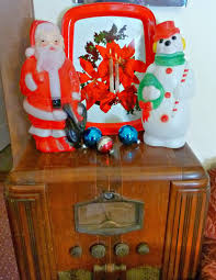 Vintage Halloween Blow Molds by Old Glory Cottage Fantastic Plastic And Other Christmas Decorations