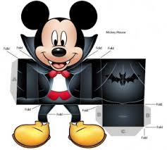 Mickey Mouse Vampire Pumpkin Stencil by Printable Halloween Decorations Stinkyink Blog