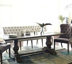 Upholstered Benches With Backs Dining