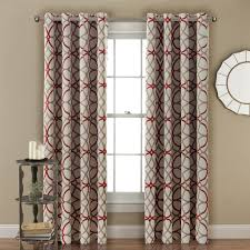 Lush Decor Belle Curtains by H Versailtex Thermal Insulated Blackout Grommet Curtain Drapes For