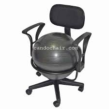 Stability Ball Desk Chair by Cando Ball Chairs Stools Exercise Domes From 800sellcom