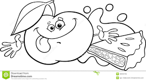 apple pie clip art black and white coloring page apple pie