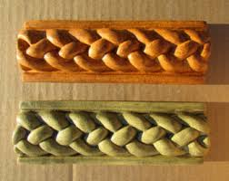 ceramic tile handmade 3 4x6 rope listello