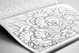 Oodles Of Doodles Adult Colouring Book The Orange One