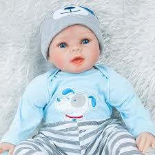 Silicone Reborn Baby Doll Lifelike Cute Toys Girl For Children Gift