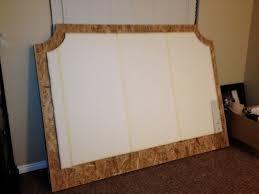 Cheap Upholstered Headboard Diy by M M Diy Upholstered Headboard