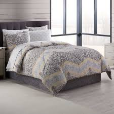 Hudson Park Bedding by Neville Comforter Set In Grey Yellow College Stuff Pinterest