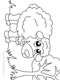 Download Coloring Pages Farm Animal Free Printable Ba Animals Redcabworcester