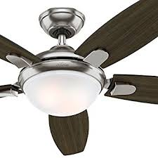 Hunter Contempo Ceiling Fan Manual by Hunter Contempo 52 In Indoor Brushed Nickel Ceiling Fan