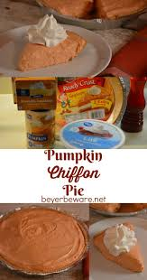 Kraft Pumpkin Mousse Trifle by 25 Best Pumpkin Chiffon Pie Ideas On Pinterest Pumpkin Flavor