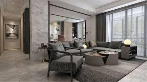 wohnraum wohnzimmer esszimmer küche 3d modell 34
